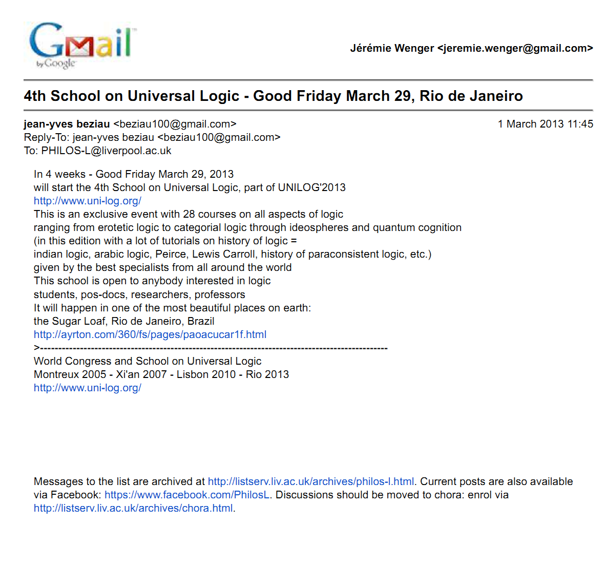 Gmail - 4th School on Universal Logic - Good Friday March 29, Rio de Janeiro